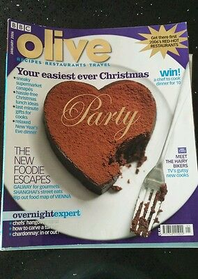22 BBC Olive Food Magazines Jan '06 - Dec '07