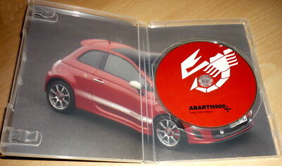 Abarth 500  Press Information CD-ROM e vari
