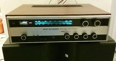 Vintage AKAI AA-6300 Solid State Stereo Receiver
