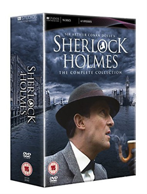 David Burke, Edward Hardwicke-Sherlock Holmes: The Complete Collection  DVD NEW