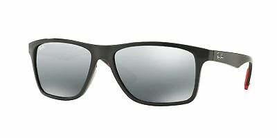 b30f146c397 Ray-Ban RB4234 618588 58mm Grey Grey Mirror Silver Gradient Lens Sunglasses