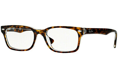 f703f510f3 RAY-BAN RX5286 5082 51mm Top Havana On Transparent Eyeglasses ...