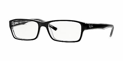 Ray-Ban RX5169 2034 54mm Top Black On Transparent Eyeglasses