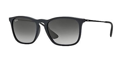 fffcd24e57 Ray-Ban RB4187 622 8G 54mm Rubber Black Light Grey Gradient Dark Grey