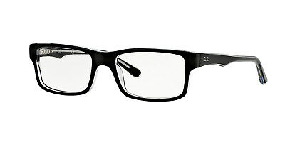 Ray-Ban RX5245 2034 54mm Top Black On Transparent Eyeglasses
