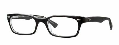 Ray-Ban RX5150 2034 48mm Top Black On Transparent Eyeglasses