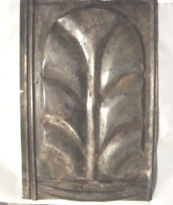 Group Of 10 Vintage Galvanized Roofing Tile By Chattanooga Metal W/design