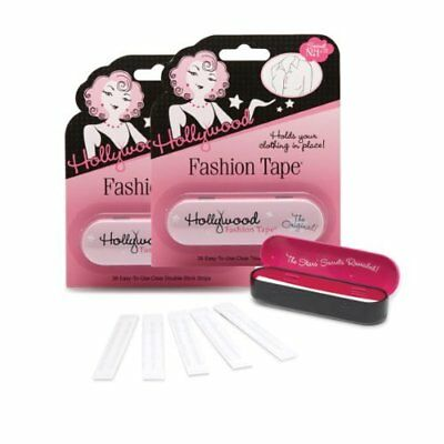 Hollywood Fashion Clear Double Side Tape # 2 Pack