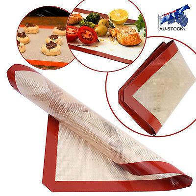 AU STOCK Non-Stick Silicone Baking Pad For Cake Cookie Baking Liner Pastry Mat