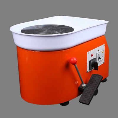 25cm Electric Pottery Wheel Pottery Machine For Ceramic Clay China Art 220V NEW