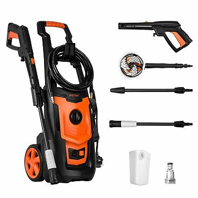 High Pressure Compact Jet Washer Home and Car Electric Water Patio Power Cleaner