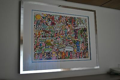 James Rizzi 3d *People, Places, Thinks And Stuff* 2006 handsigniert selten