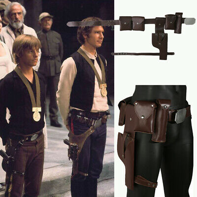 Star Wars Luke Skywalker Belt Adjustable Cosplay Costume Prop Gun Holster Xcoser