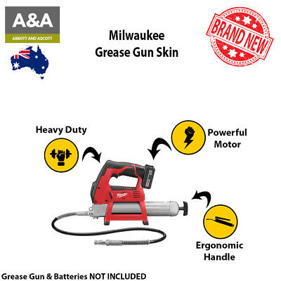 Milwuakee Cordless Grease Gun | 100% GENUINE | POWERFUL On-Board LED Fuel Gauge