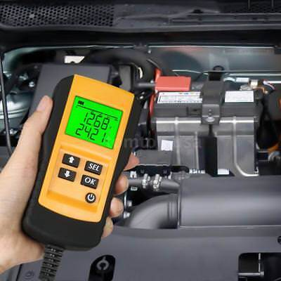 12V LCD Digital Car Battery Analyzer Automotive Vehicle Battery Diagnostic D8V7