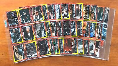 1992 Topps Batman Returns (The Movie) - Set of 88 Cards + 10 Stadium Club Cards