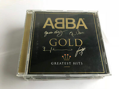 ABBA - Gold (Greatest Hits) Limited Edition Signature EMBOSSED EX/EX [B3]