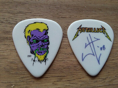 Metallica Guitar Pick James Hetfield Zombie 08 Plectrum