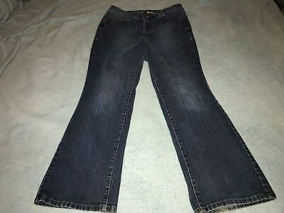 Lane Bryant Bootcut Tighter Tummy Technology Medium Wash Jeans Women's Size 16