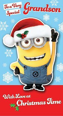 ddbc4fe64b6ce despicable me merry christmas niece christmas card minion