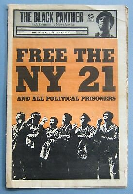 Original Vintage June 7,1969 The Black Panther Party Newspaper, Vol. lll No. 7