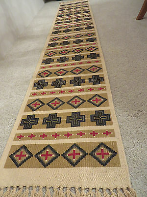 #5 Cotton Stencil Table Runner India Great Designs Cotton Table Runner 13x72