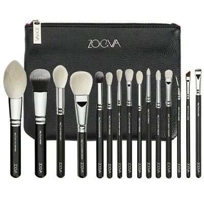 ZOEVA 15 pinceaux luxe complete set  +  pochette, complete set brushes NEUF/NEW