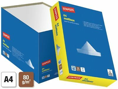 Staples Quick Pack  80 Gsm White A4 Paper Multi Listing 1 2 3 4 5 + Boxes