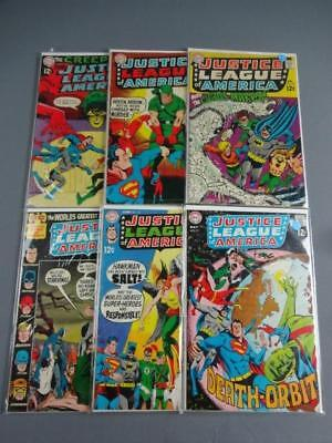 Justice League Of America Silver Age Lot Of 6-#'s 68-72,86-VG And Up- DC Comics