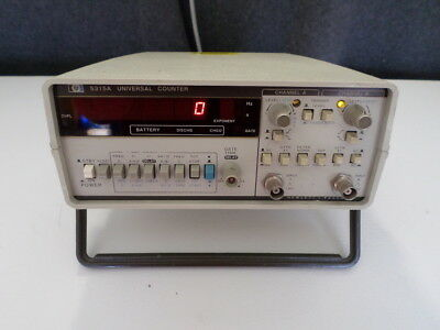 HP Agilent 5315A Universal Counter with Option 1 TCXO