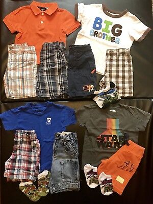 Size 3T 3 Boys Summer/ Spring Lot: (Carters, Izod, & more) - 14 items