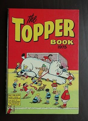 Vintage The Topper Book 1975  Annual, Price Unclipped