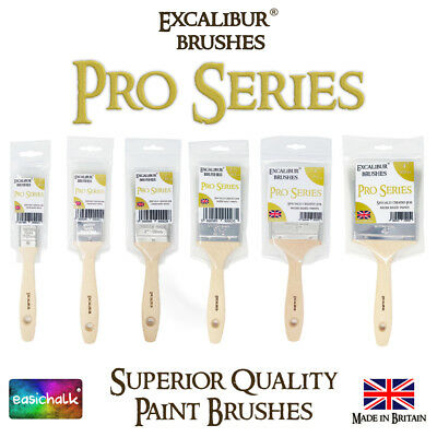 Excalibur Pro Series Paint Brushes for all Water Based Paint and Chalk Paint.