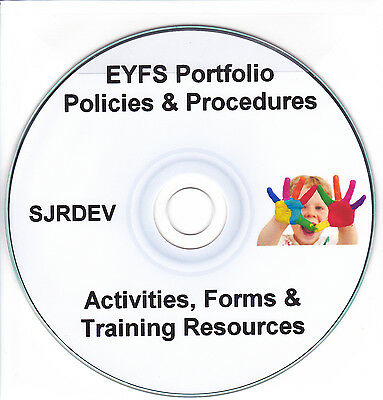 Eyfs Pack Portfolio New Early Years Childminder Updated Policies