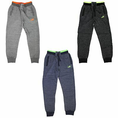 PUMA Boys Joggers Pant - Elastic Waistband - Drawstring - 2 Side Pockets