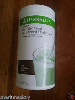 Herbalife Formula 1 F1 MINT CHOCOLATE FLAVOUR Best By: 5/18