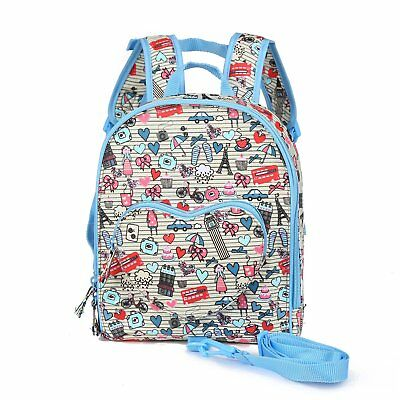 Little Kids Baby Girl Toddler Cute Backpack Preschool Nursery Bag With Safety Ha