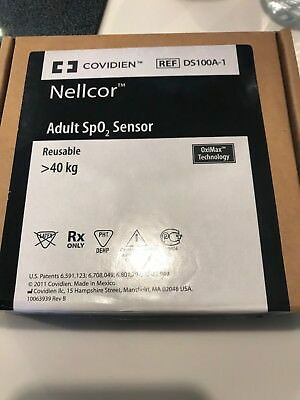 Nellcor Adult Sp02 Sensor DS100A-1