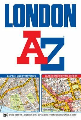 London Street Atlas 9781782571322 (Paperback, 2017)
