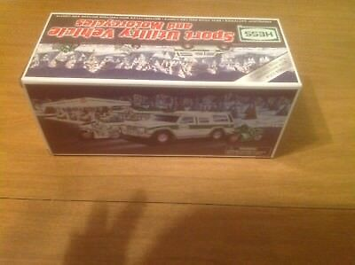 2004 Hess Toy Sport Utility Vehicle and Motorcycles - 40th Anniversary NIB