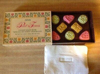 """Vintage Avon Petit 8 Guest Soaps with """"Special Occasion"""" Fragrance"""