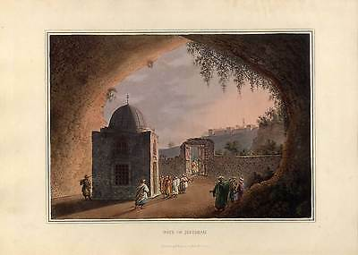 JERUSALEM-Israel-Palästina - R. Bowyer-Luigi Mayer, Aquatinta 1810