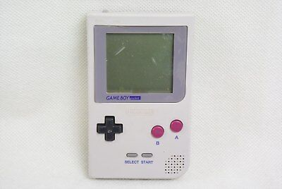 Nintendo Game Boy Pocket GREY Console JUNK Not working MGB-001 Gameboy /8139 gb