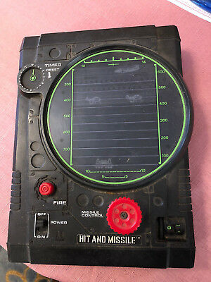 Hit and Missile Tomy 1979 Hand held game