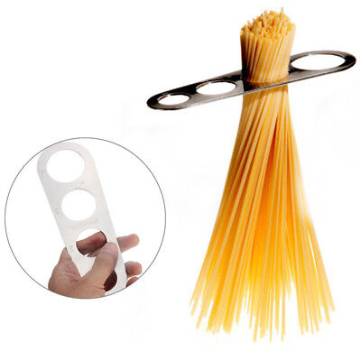 Pasta Serving Size Measuring Tool Stainless Steel Spaghetti Noodle Portion Diet
