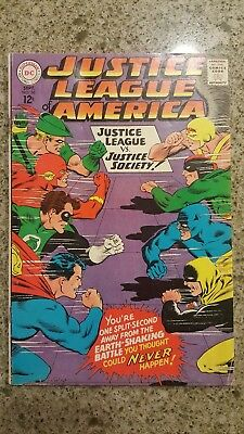 Justice League of America #56 (Sep 1967, DC) good