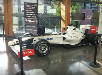 Formula One Full Size Car Simulator for Hire
