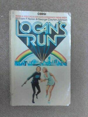 Logan's Run by Johnson, George Clayton Paperback Book The Cheap Fast Free Post
