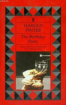 The Birthday Party by Pinter, Harold Paperback Book The Cheap Fast Free Post