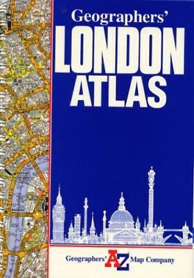 A. to Z. London Atlas (Street Atlas) by Geographers' A-Z Map Compan Spiral bound